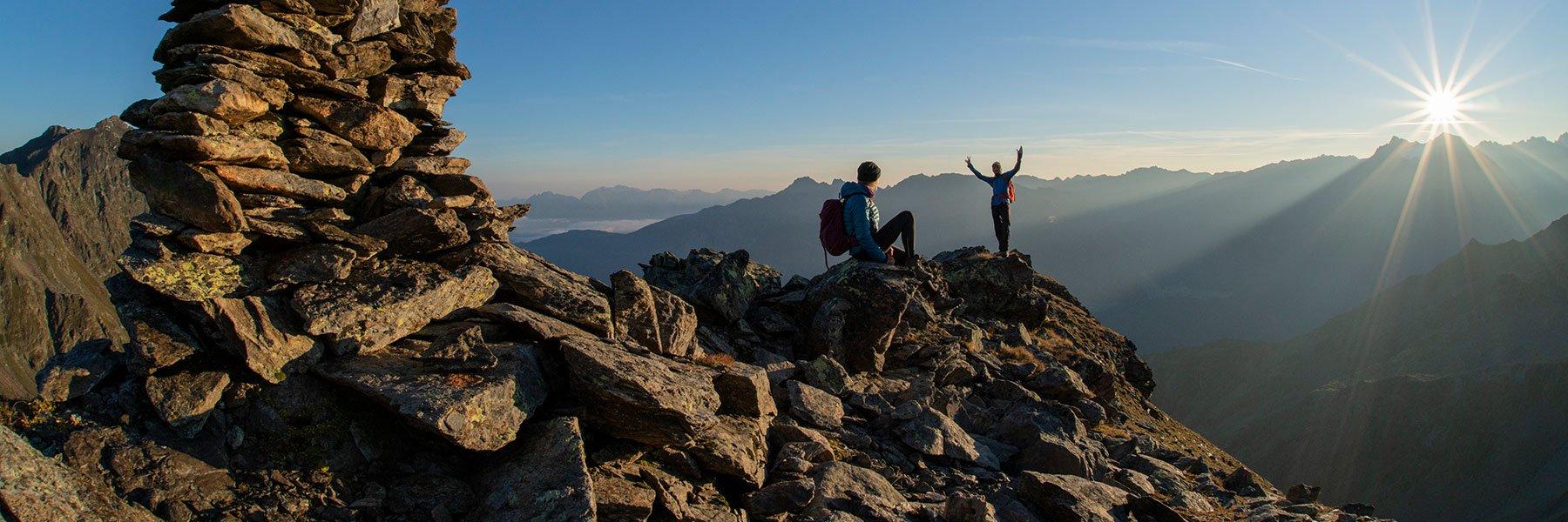Wandern und Bergsteigen in Gries
