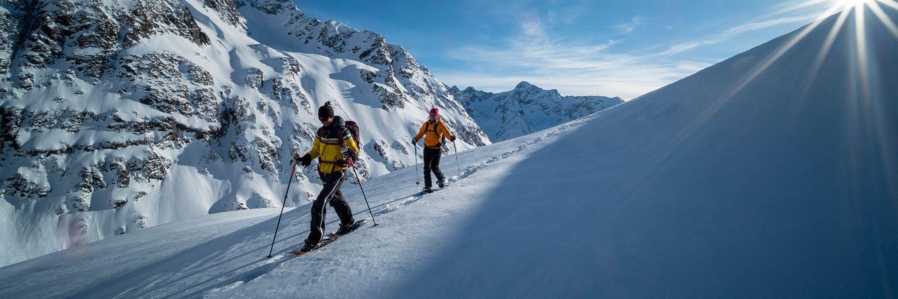 Schneeschuhwandern in Längenfeld