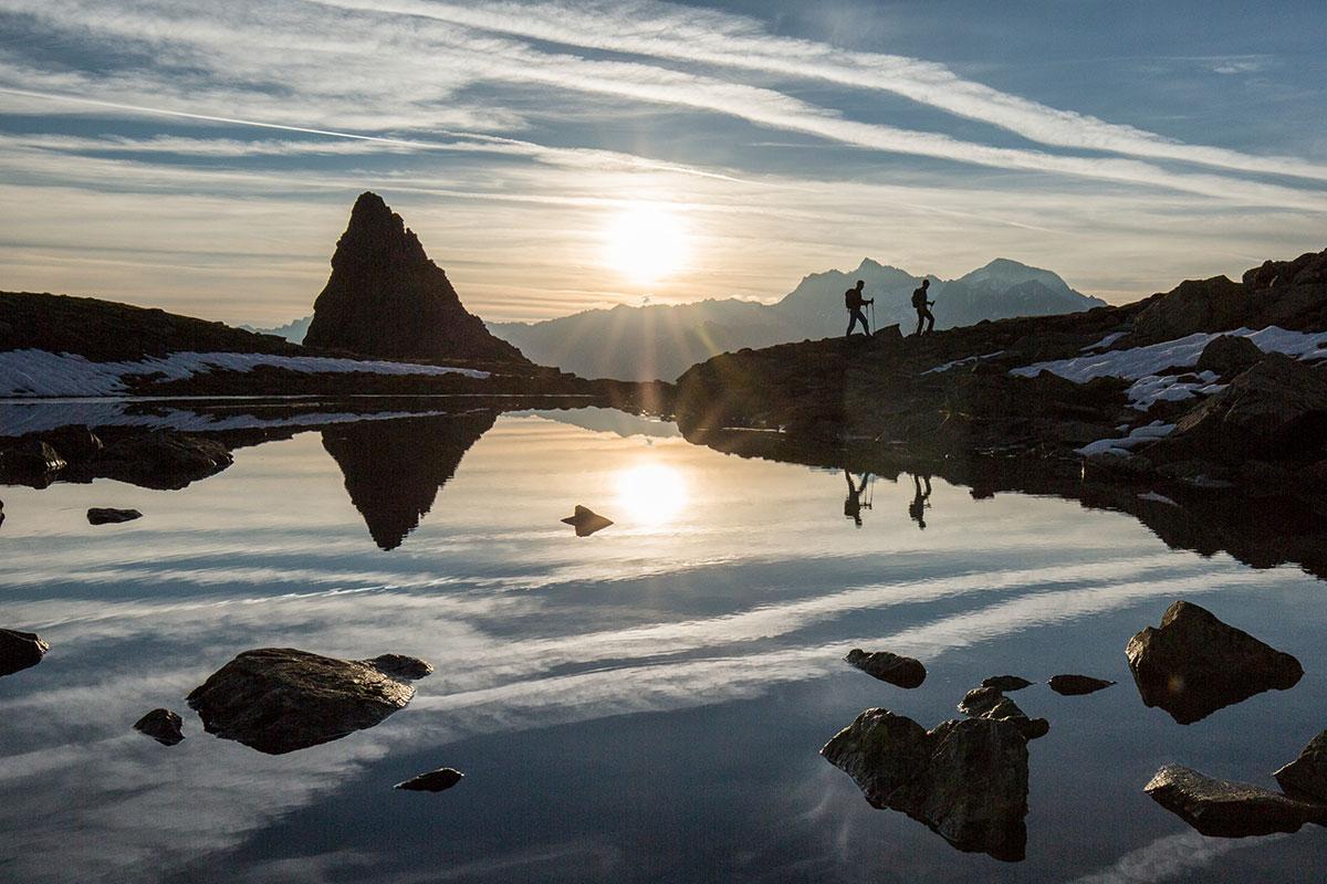 Wanderung zum Plattachsee