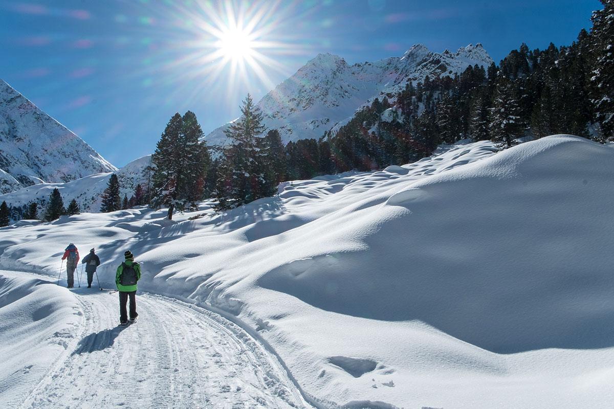 Winterwanderung im Sulztal