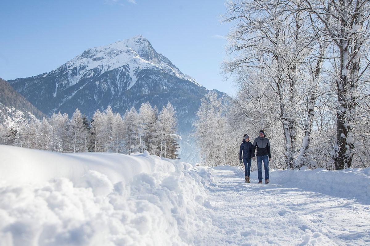 Winterlandschaft im Ötztal